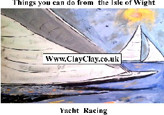 'Yacht Racing' 'Things you can't and can do from IW' Postcard based on original painting by BB Bango