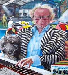 Portrait commission by John Hunter. This is of Tim Bristow (BB Bango)