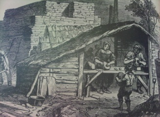 Brickmaking from Boys Book of Trades 1871