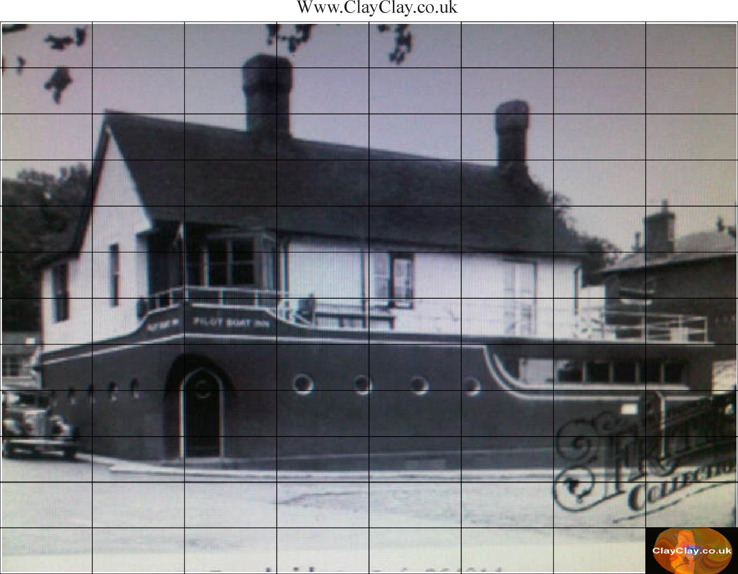 Mini Brick Jigsaws Pilot Boat Inn 96 pieces £24 (Non Magnetic)