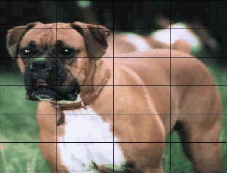 Mini Brick Jigsaws Boxer Dog. 24 pieces £5.00 (magnetic)
