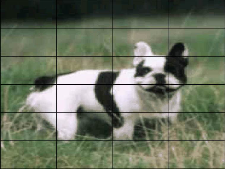 Mini Brick Jigsaws French Bulldog. 24 pieces £5.00 (magnetic)