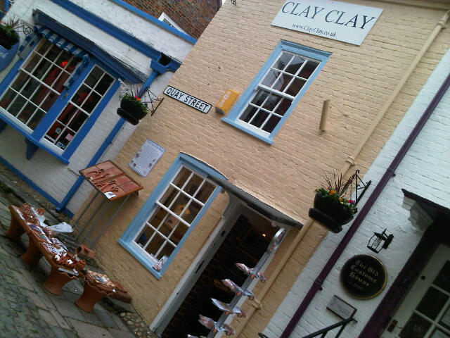 ClayClay Shop in Quay St, Lymington, Hampshire. With Ruth Hammond Design .
