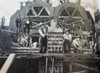 Building London's sewer network 1859 at Old Ford, Bow