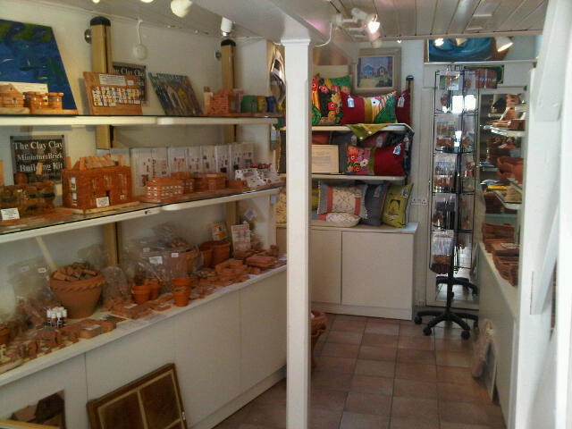 ClayClay Shop in Quay St, Lymington, Hampshire. With Ruth Hammond Design.