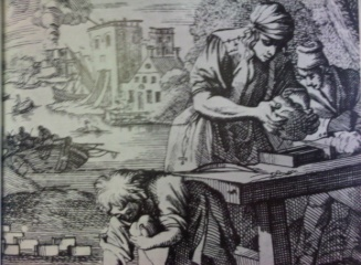 Brickmaking 1695 in the Netherlands