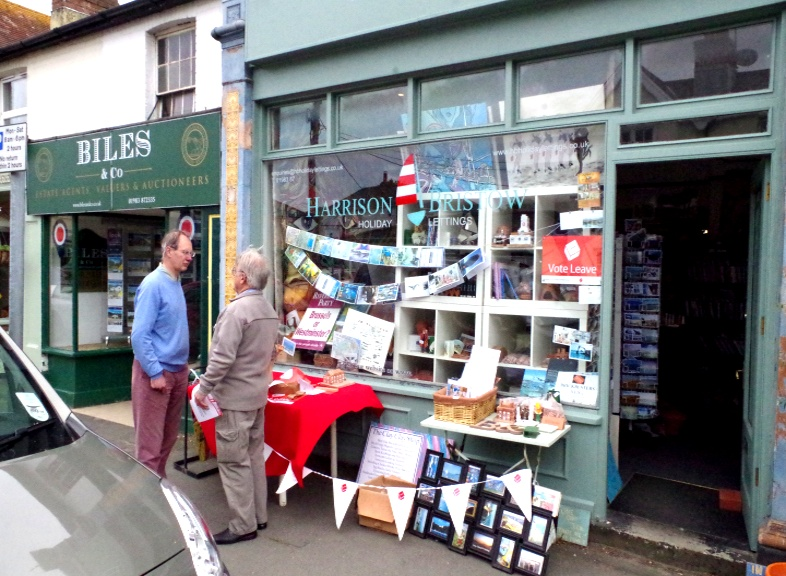 Street Stall Bembridge 30th May 2016